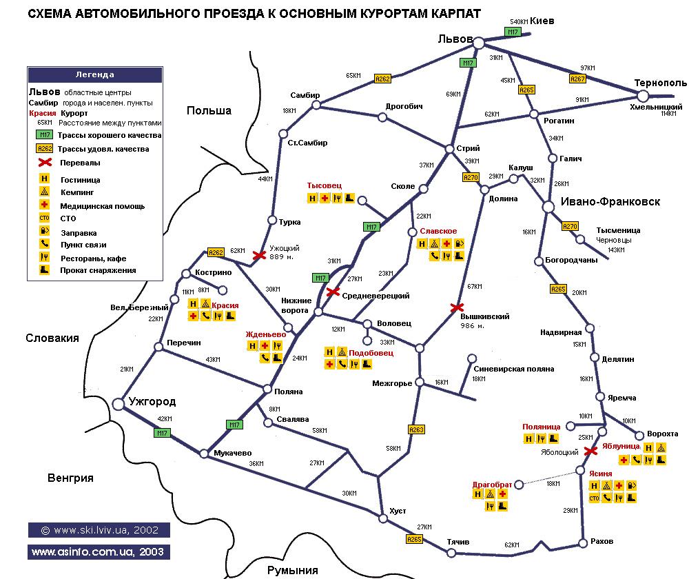 Схема проезд по брянску