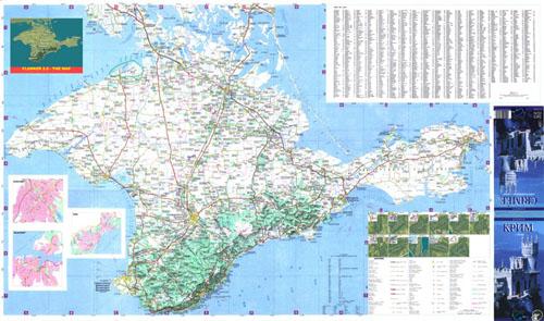 Крыма карта крыма на украинском и