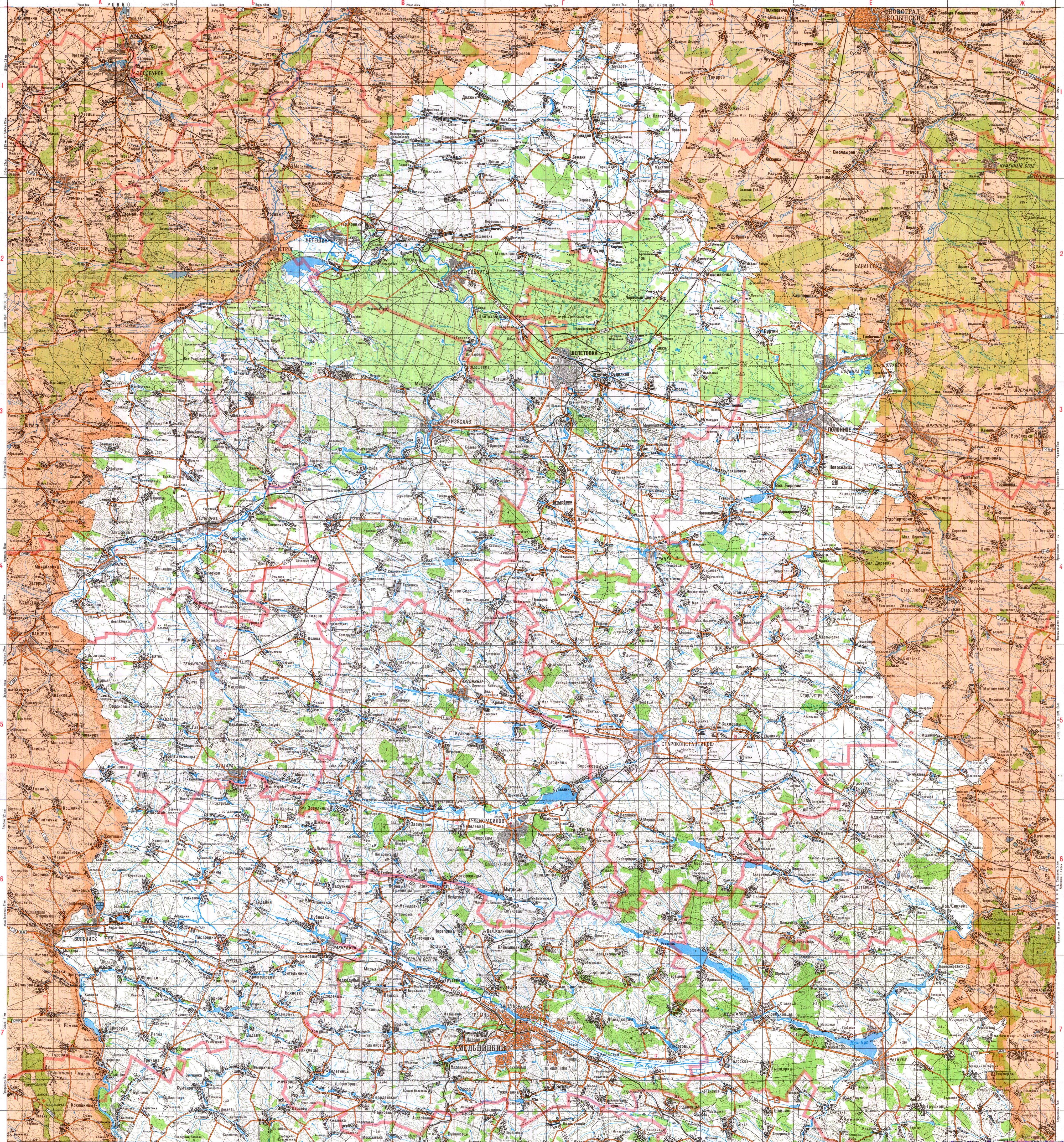 Бесплатно Скачать Топографическую Карту Генштаба