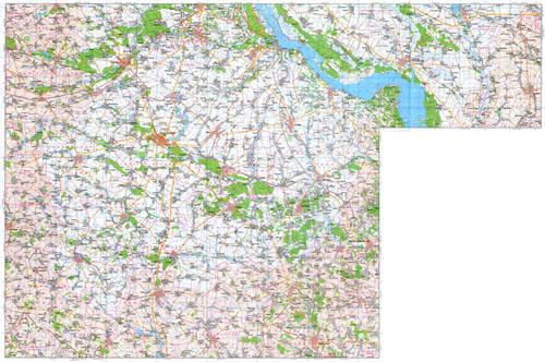 Карта киевской области карта