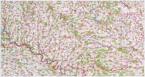 Карта винницкой области карта