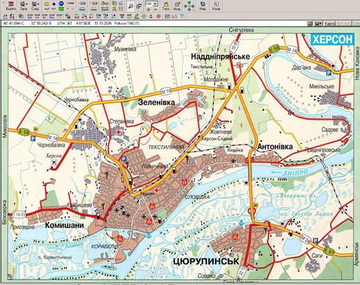 Скачать бесплатно карты для gps навигатора украины